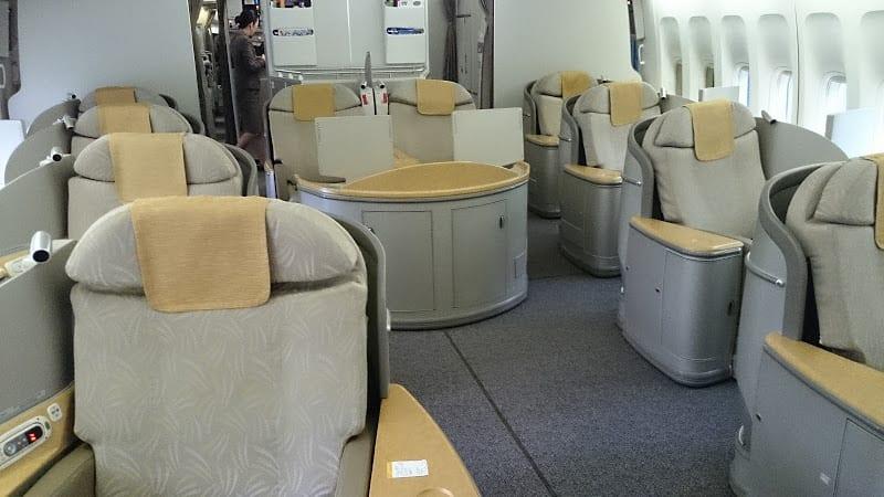 asiana first class 747