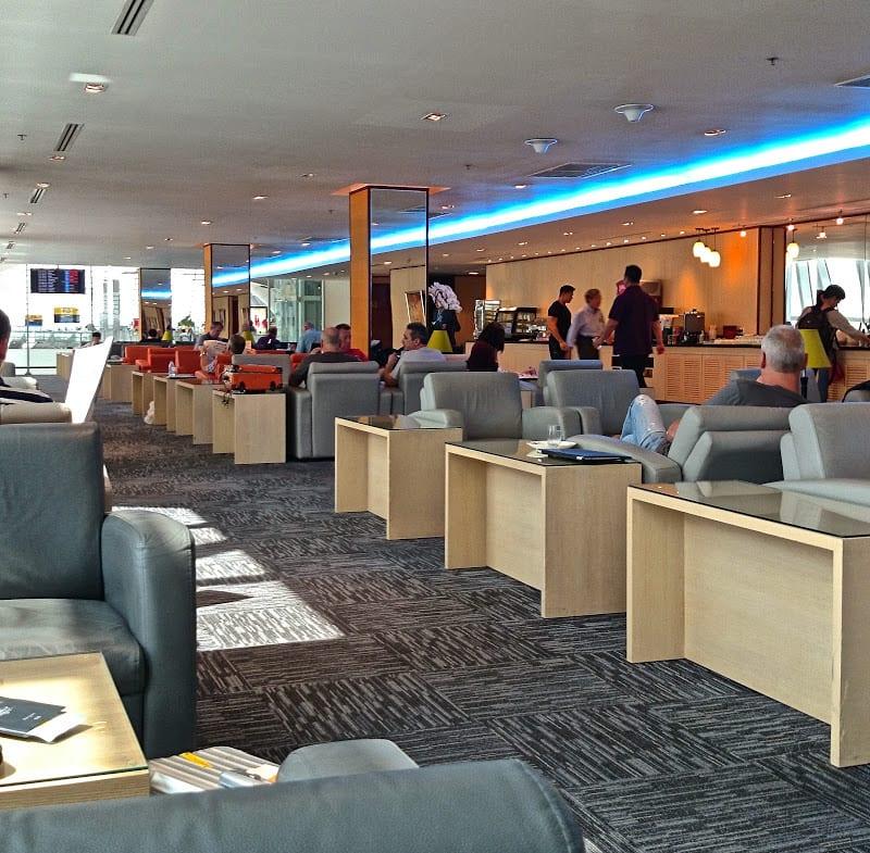 eva air lounge bkk - First Class & Business Class flight reviews