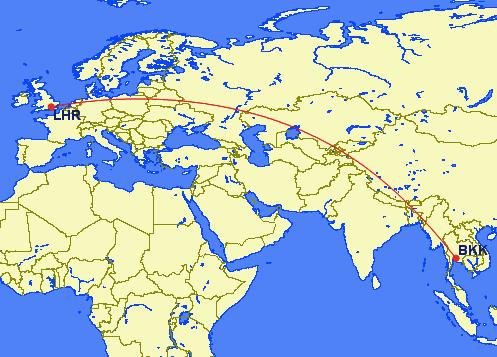 lhr bkk - REVIEW - EVA Air: Royal Laurel Business Class - Bangkok to London (B77W)
