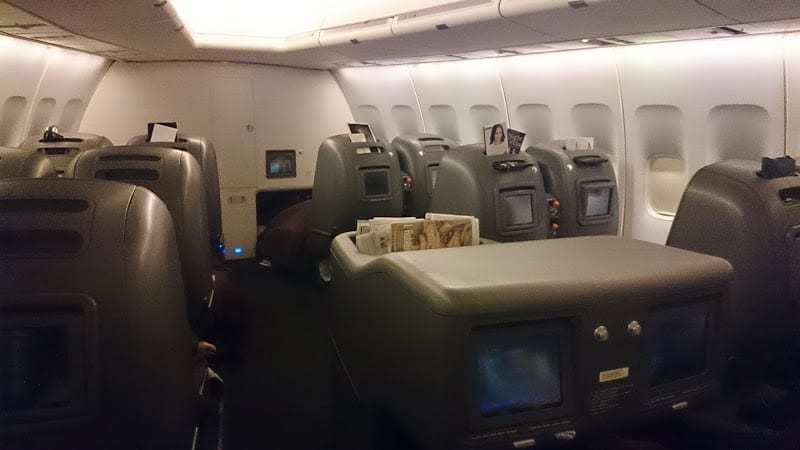 qf 747 business - REVIEW - Qantas: Business - Tokyo to Sydney (April 2014)