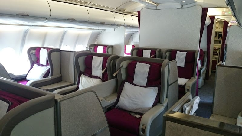 qr f a330 - REVIEW - Qatar: First Class - Dubai to Doha (A330)