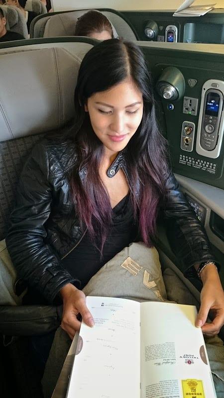 royla luarel kamara - First Class & Business Class flight reviews