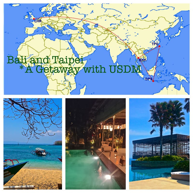 usdm TR - Bali and Taipei - *A Getaway with USDM - BR J, TG J - Peninsula, Alila
