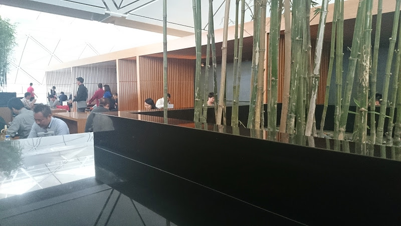 wing HKG hero - REVIEW - Cathay Pacific : The Wing Business Class Lounge, Hong Kong