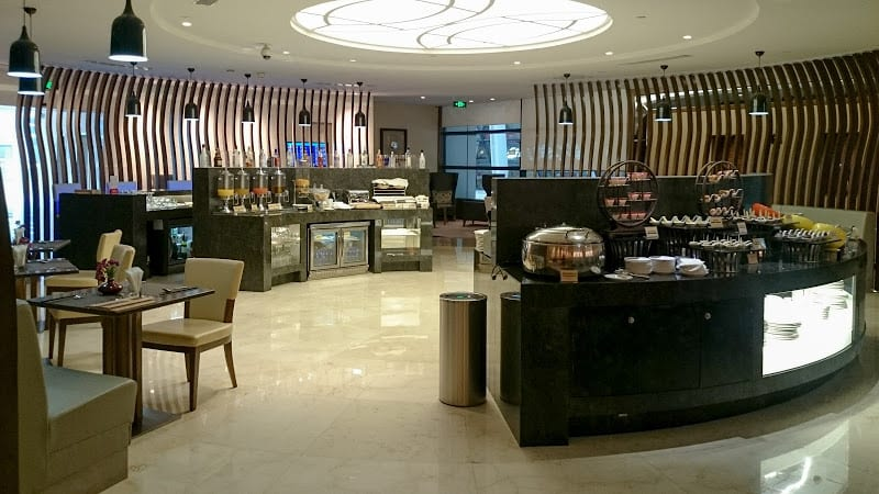 CA F lounge - REVIEW - Air China First Class Lounge, Shanghai PVG