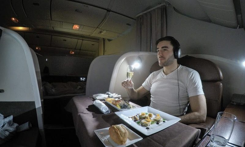 JL F HND LHR featured 800x480 - REVIEW - JAL : First Class - Tokyo Haneda to London (B77W)