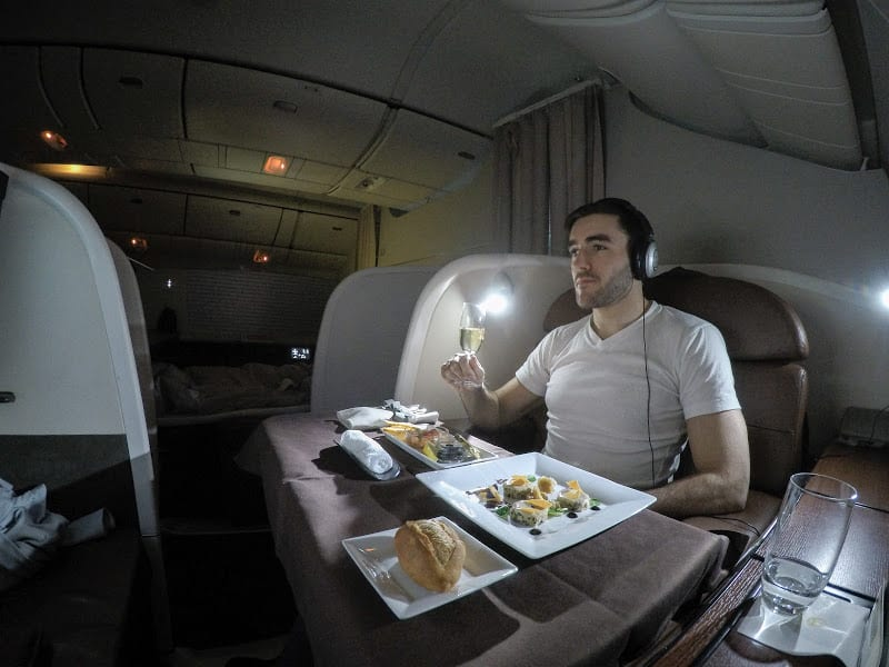 JL F HND LHR featured - REVIEW - JAL : First Class - Tokyo Haneda to London (B77W)