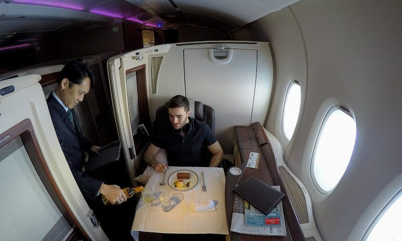 SQ suites first time 800x480 - REVIEW - Singapore Airlines : Suites - Singapore to Shanghai (A380)