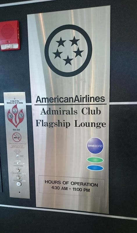 aa flagship lounge - REVIEW - American Airlines Flagship First Class Lounge – New York JFK Airport (March 2015)