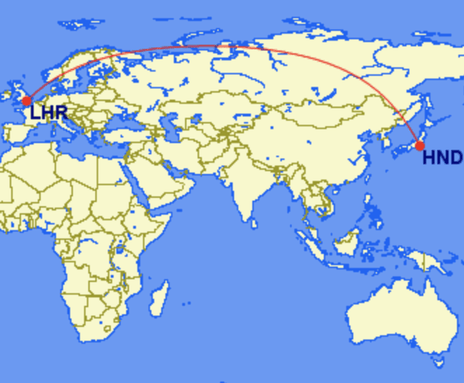 lhr hnd - REVIEW - JAL : First Class - B777 - Tokyo (HND) to London (LHR)