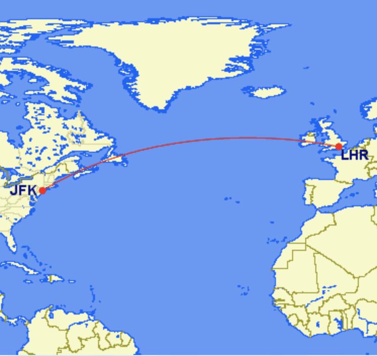 lhr jfk - REVIEW - British Airways : First Class - London to New York JFK