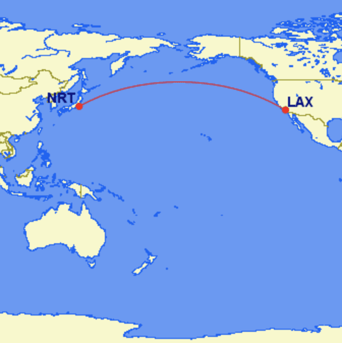 nrt lax - REVIEW - JAL : First Class- Los Angeles to Tokyo Narita (B77W)