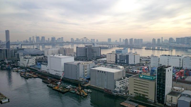 tokyo port view