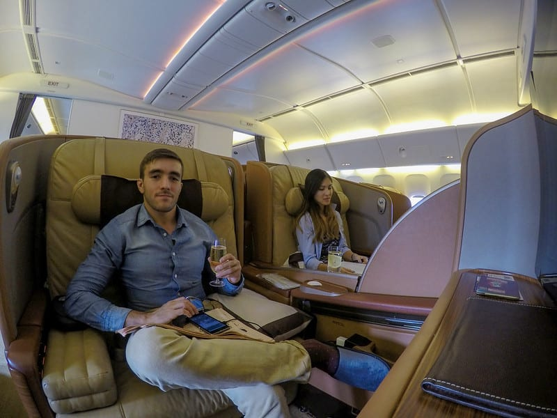 25423889170 42d0f01b2a c - REVIEW - Singapore Airlines : First Class - Singapore to Manila (B77W)