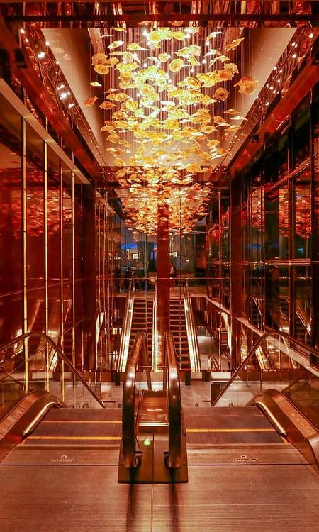 ritz carlton hong kong stairs