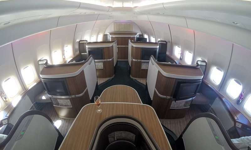 cathay 747 first class