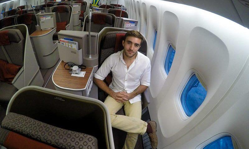 garuda dps business 800x480 - REVIEW - Garuda Indonesia : Business Class - Bali to Jakarta (B77W)