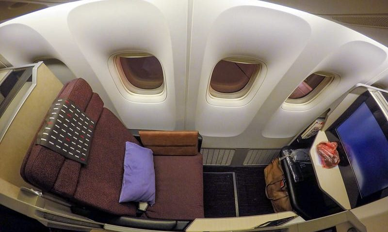 jl business 777 800x480 - REVIEW - JAL : Business Class - Jakarta to Tokyo Narita (B77W)