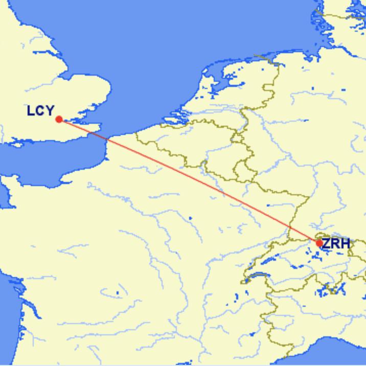 lcy zrh - REVIEW - British Airways Cityflyer : Economy Class - London City to Zurich (E170)