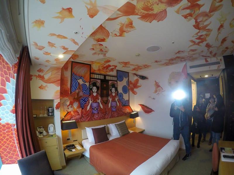 park hotel tokyo - REVIEW - Park Hotel Tokyo (Artist Room - Geisha)