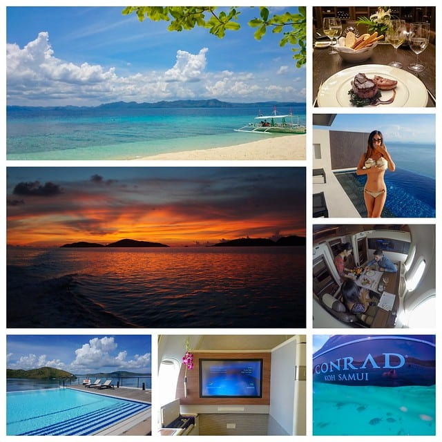 two islands logo - A Tale of Two Islands - SQ Suites, TG F/J - Conrad Koh Samui and Wreck Diving