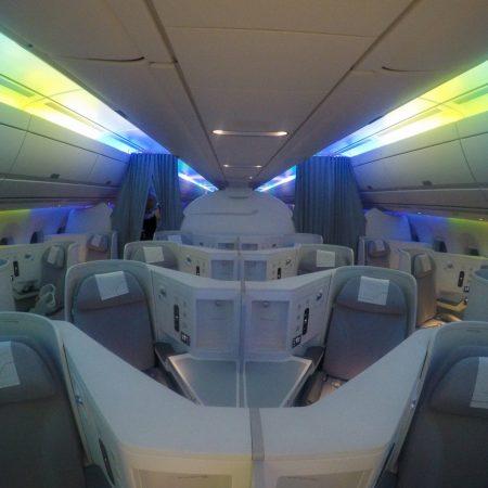 finnair A350 cabin