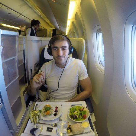 BA business class 777