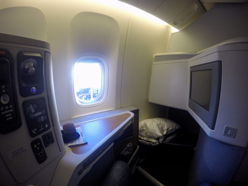 VikingOne 75 1024x768 - REVIEW - American Airlines : Business Class - New York JFK to London Heathrow (B77W)