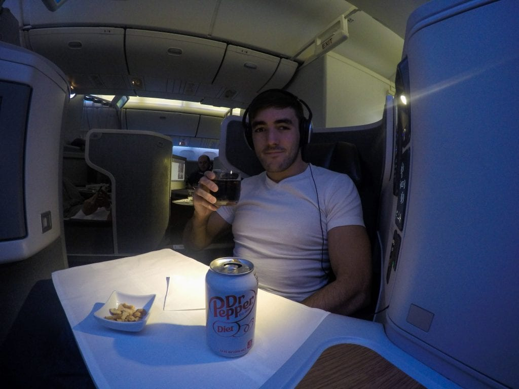 VikingOne 79 1024x768 - REVIEW - American Airlines : Business Class - New York JFK to London Heathrow (B77W)