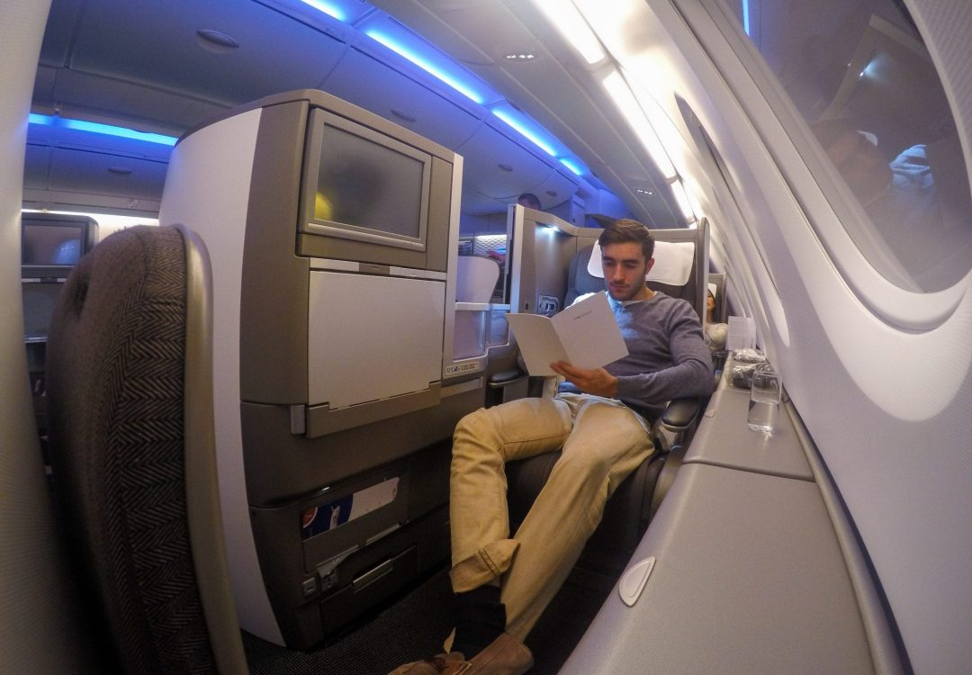 BA Club world A380