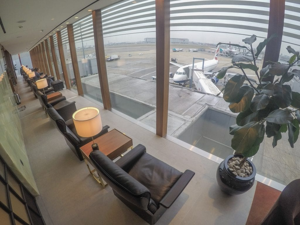 New CX Lounges T3 14 1024x768 - REVIEW - Cathay Pacific : First Class Lounge, London Heathrow T3 (post-refurb)