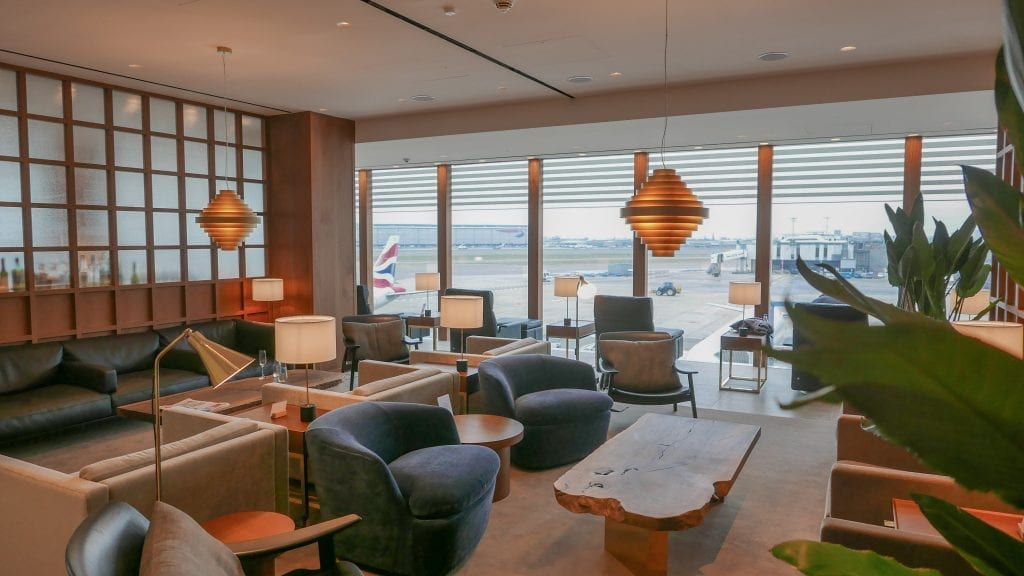 New CX Lounges T3 16 1024x576 - REVIEW - Cathay Pacific : First Class Lounge, London Heathrow T3 (post-refurb)