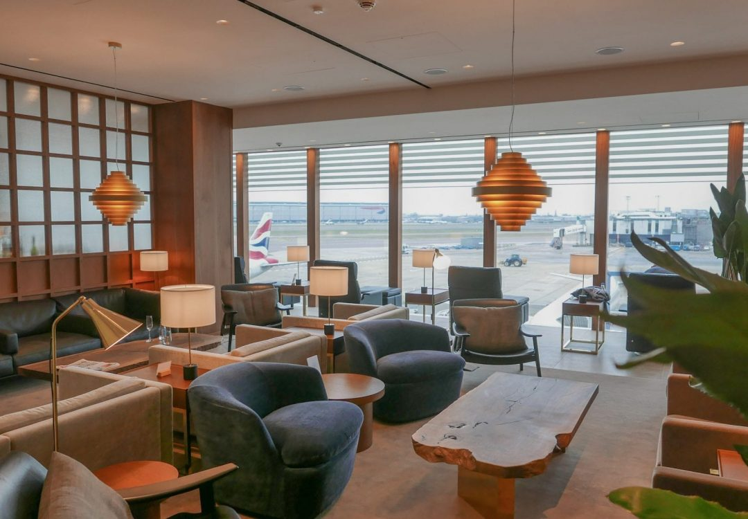 New CX Lounges T3 16 1080x750 - REVIEW - Cathay Pacific : First Class Lounge, London Heathrow T3 (post-refurb)