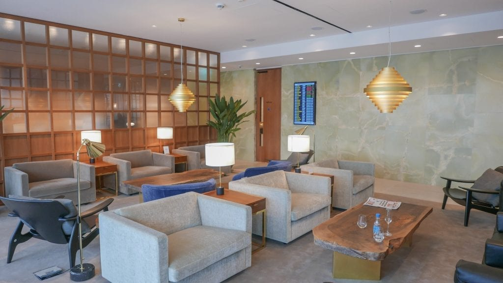 New CX Lounges T3 18 1024x576 - REVIEW - Cathay Pacific : First Class Lounge, London Heathrow T3 (post-refurb)