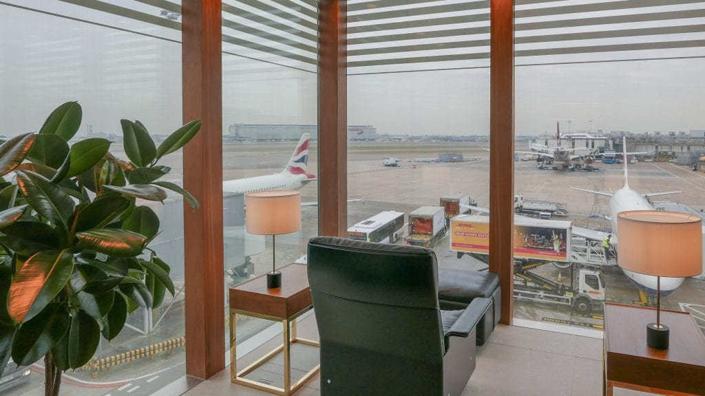 New CX Lounges T3 21 1024x576 - REVIEW - Cathay Pacific : First Class Lounge, London Heathrow T3 (post-refurb)