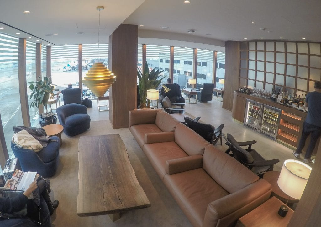 New CX Lounges T3 22 1024x726 - REVIEW - Cathay Pacific : First Class Lounge, London Heathrow T3 (post-refurb)