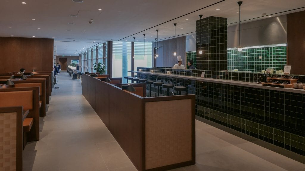 New CX Lounges T3 58 1024x576 - REVIEW - Cathay Pacific : Business Class Lounge, London Heathrow T3 (post-refurb)