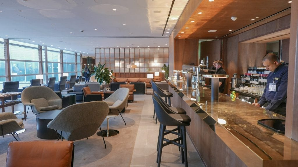 New CX Lounges T3 73 1024x576 - REVIEW - Cathay Pacific : Business Class Lounge, London Heathrow T3 (post-refurb)