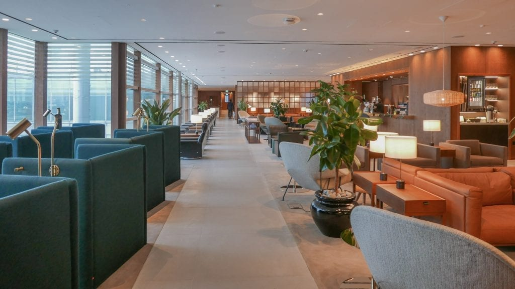 New CX Lounges T3 74 1024x576 - REVIEW - Cathay Pacific : Business Class Lounge, London Heathrow T3 (post-refurb)
