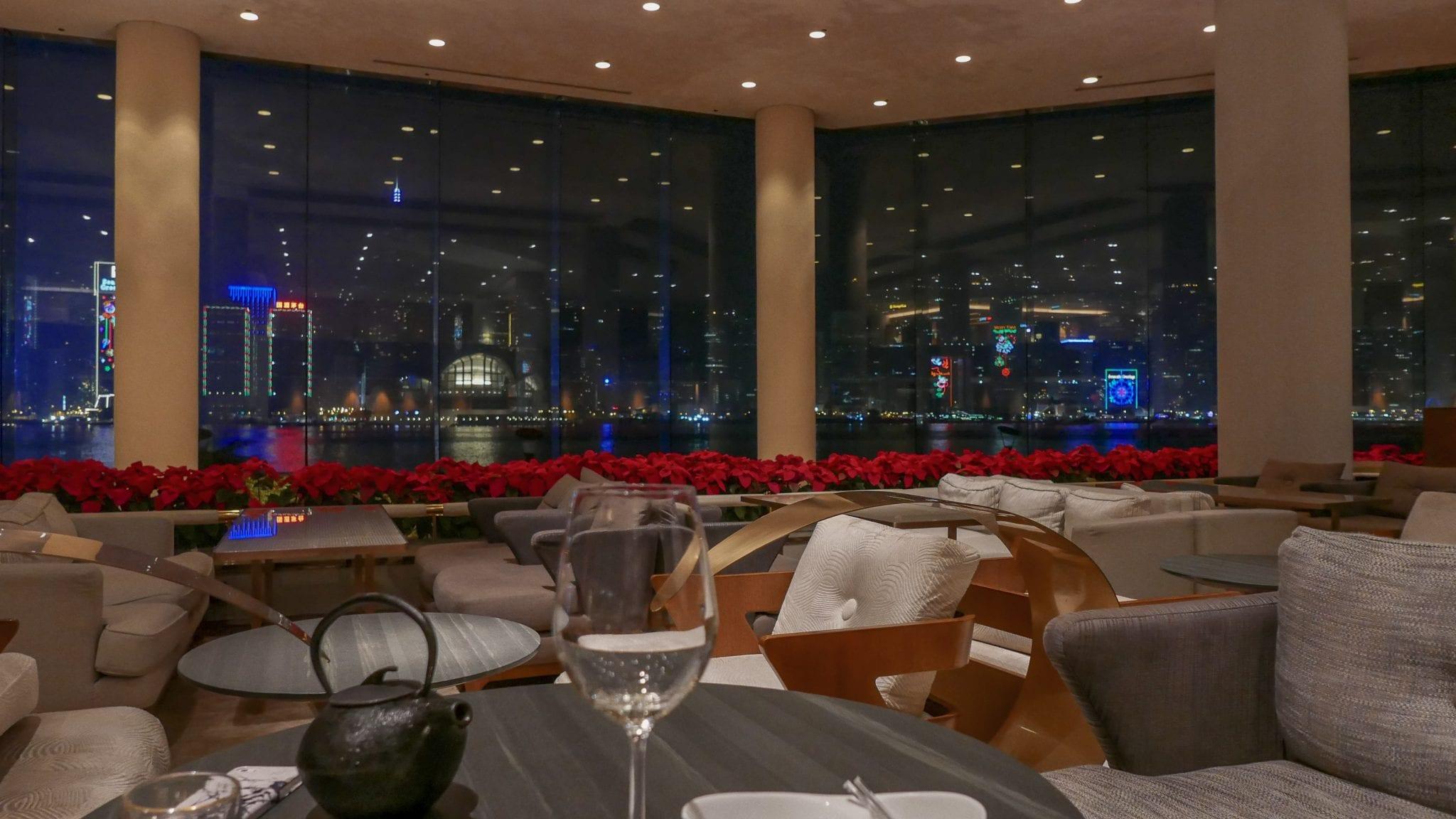 Intercontinental Hong Kong bar