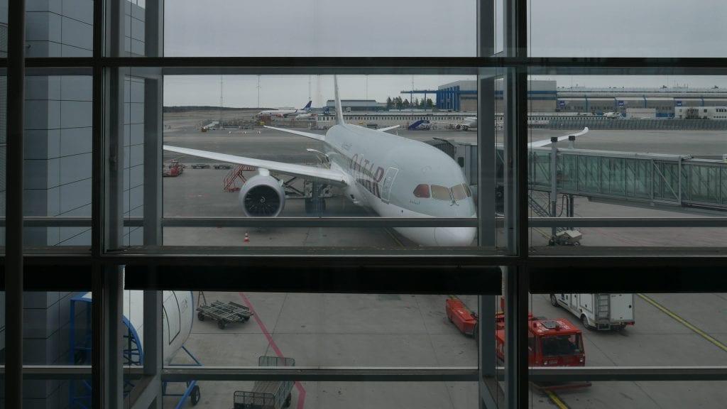 ARN DOH QR J 1 1024x576 - REVIEW - Qatar Airways : Business Class - Stockholm to Doha (B787)