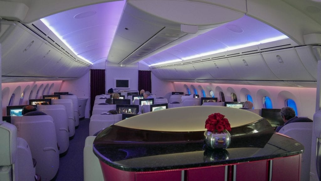 ARN DOH QR J 2 1024x576 - REVIEW - Qatar Airways : Business Class - Stockholm to Doha (B787)
