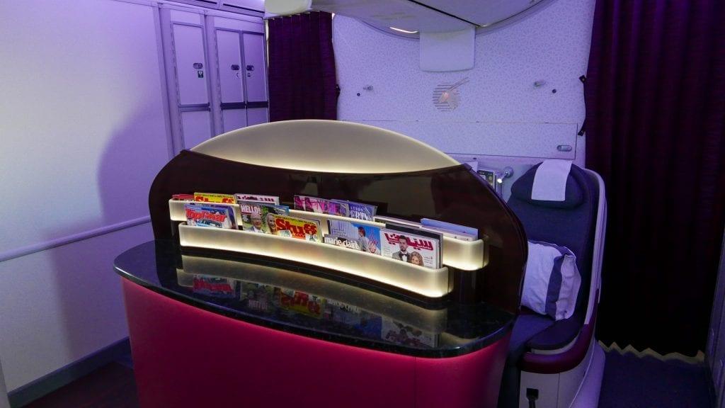 ARN DOH QR J 3 1024x576 - REVIEW - Qatar Airways : Business Class - Stockholm to Doha (B787)