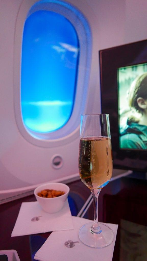 ARN DOH QR J 34 576x1024 - REVIEW - Qatar Airways : Business Class - Stockholm to Doha (B787)