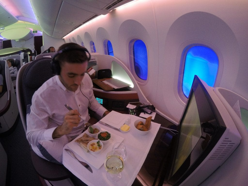 ARN DOH QR J 39 1024x768 - REVIEW - Qatar Airways : Business Class - Stockholm to Doha (B787)