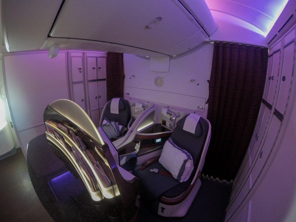 ARN DOH QR J 4 1024x768 - REVIEW - Qatar Airways : Business Class - Stockholm to Doha (B787)