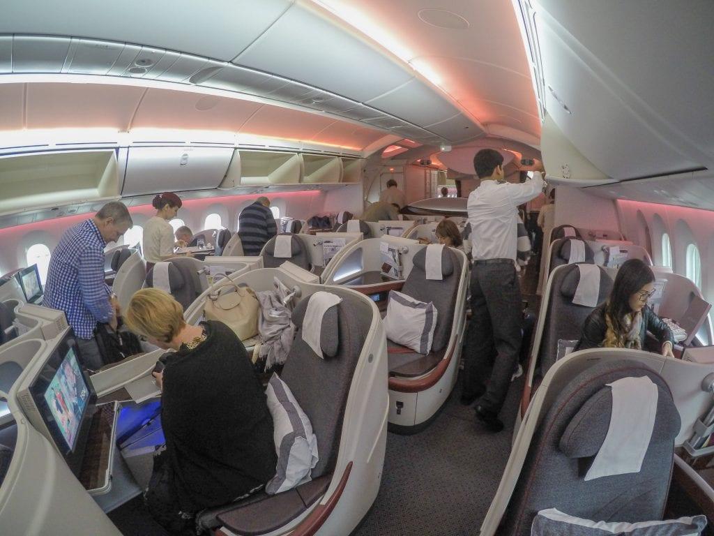 ARN DOH QR J 6 1024x768 - REVIEW - Qatar Airways : Business Class - Stockholm to Doha (B787)