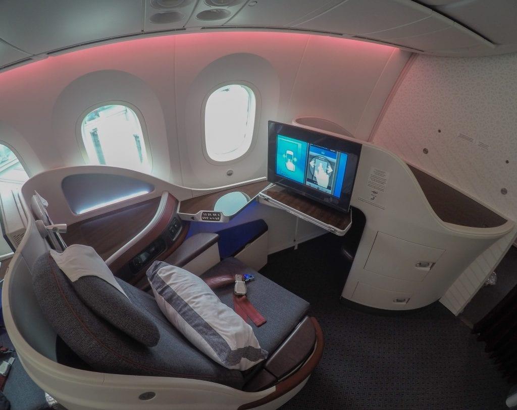 ARN DOH QR J 7 1024x813 - REVIEW - Qatar Airways : Business Class - Stockholm to Doha (B787)