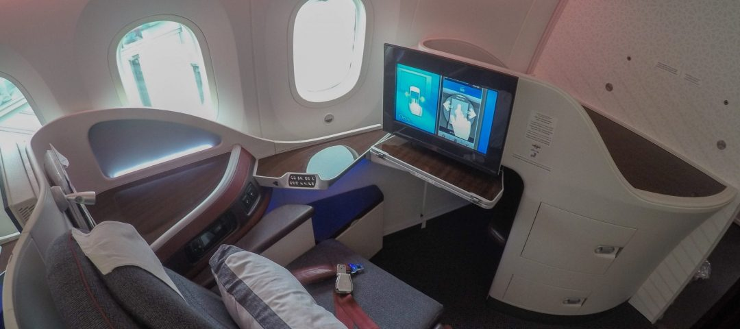 qatar 787 business class
