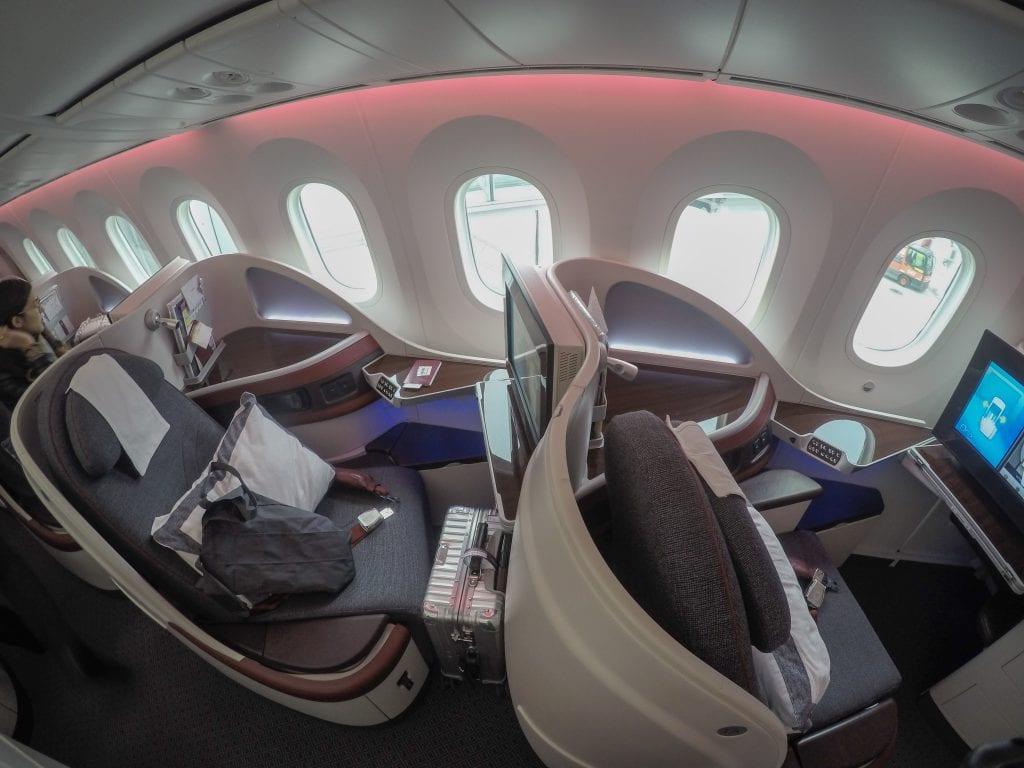 ARN DOH QR J 8 1024x768 - REVIEW - Qatar Airways : Business Class - Stockholm to Doha (B787)